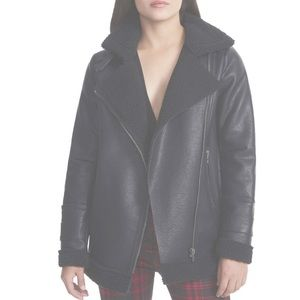 AFRM Opelia oversized faux shearling jacket